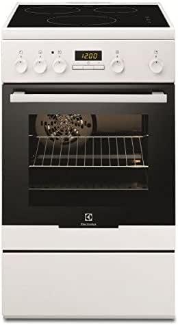 Electrolux EKI54551OW - Cocina (Cocina independiente, Blanco, Botones, Giratorio, Frente, Con placa de inducción, Pequeño): Amazon.es: Grandes electrodomésticos