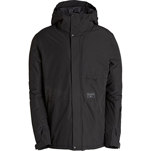 Billabong Men's Legacy Plain Snow Jacket, Black, Medium (Billabong Snow Jackets)