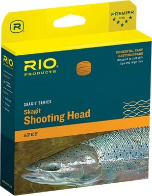 RIO Products Fly Line Skagit Max Head 550gr, Teal/Orange