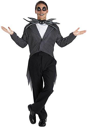Morris Costumes Men's Jack Skellington Costume, -