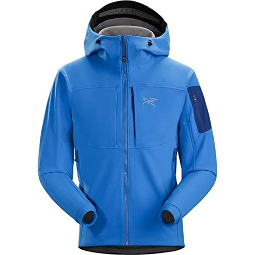 Arc'teryx Gamma MX Hooded Softshell Jacket - Men's Rigel, M by Arc'teryx
