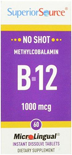 1000 mcg methylcobalamin - 3
