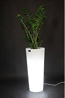 Wink design, Abilene, Vaso Luminoso per Esterno, Bianco: Amazon.it ...