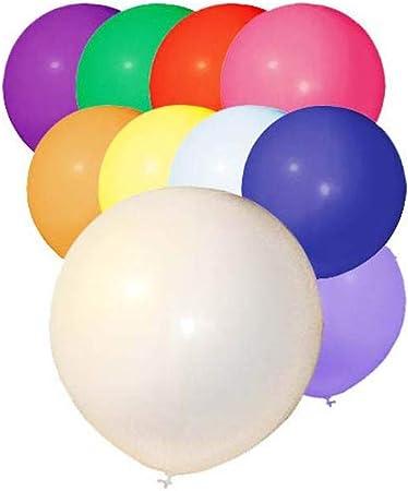 Aptafêtes bolsa de 50 globos gigante – diámetro 48 cm/cirérence ...
