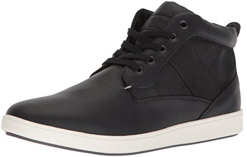 Steve Madden Men's Frazier Sneaker, Black, 13 M US - High Top Casual Shoes
