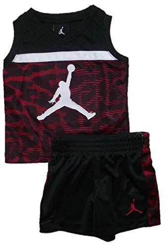 Jordan Jersey Shorts (Air Jordan Baby Boy's Jumpman Jersey Tank and Shorts (12M))