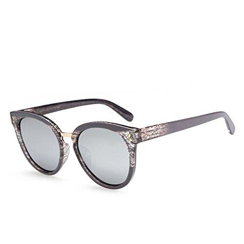 Ultravioleta Retro Anti Conducción De Gafas De Polarizadas Sol Gray Imitación De Viaje Gray De De Grano Personalidad Unisex Gafas Madera RnTqFCwqx