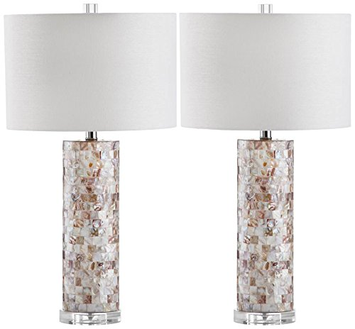 - Safavieh Lighting Collection Boise Cream 28.9-inch Table Lamp (Set of 2)