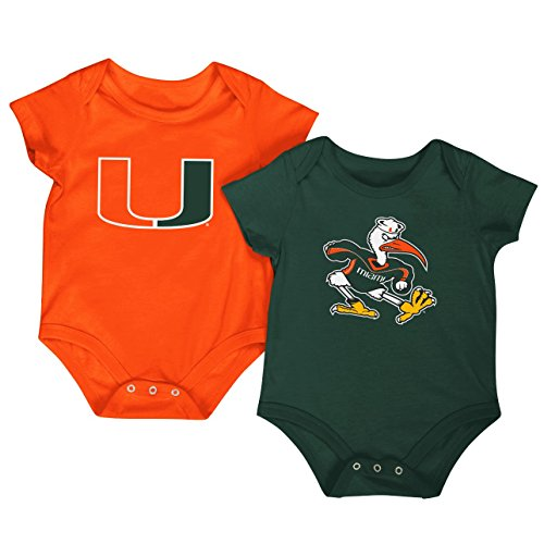colosseum-ncaa-short-sleeve-bodysuit-2-pack-newborn-and-infant-sizes-miami-hurricanes-0-3-months