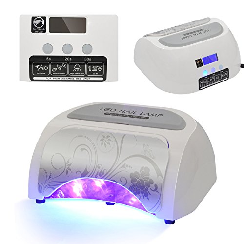 SymbolLife 48W Automatic Induction Nail Polish Gel Art Tools Professional LED Nail Lamp Light Nail Dryer by SymbolLife
