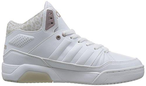 adidas PLAY9TIS W - Zapatillas deportivas para Mujer, Blanco - (FTWBLA/FTWBLA/GRMEVA) 37 1/3
