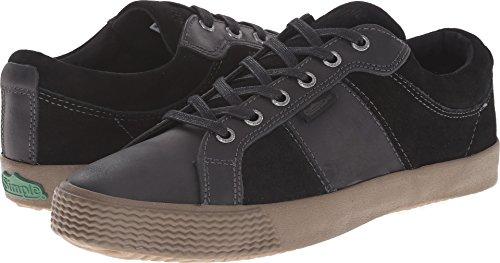 Simple Men's Waveoff Fashion Sneaker, Black, 9.5 M (Simple Suede Sneakers)
