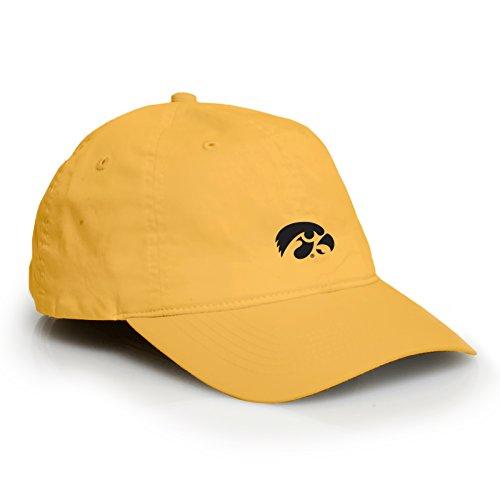 Pacific Basketball Collegiate (AV31 - Iowa Hawkeyes Primary Logo Vintage Adjustable Hat - OS - Gold)