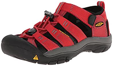 KEEN Newport H2 Sandal (Toddler/Little Kid/Big Kid),Ribbon Red/Gargoyle,4 M US Toddler