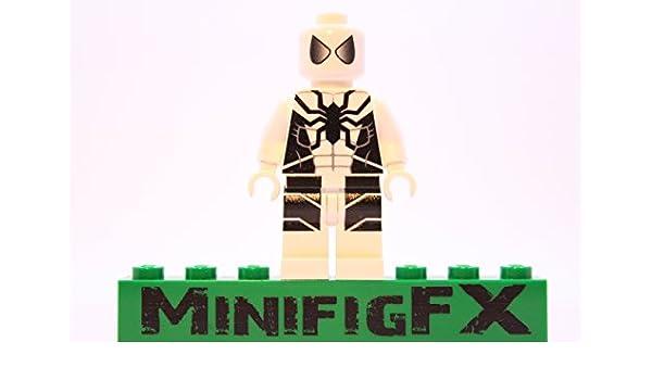 Lego Custom Printed Future Foundation Spider-Man Minifig Marvel Super Hero