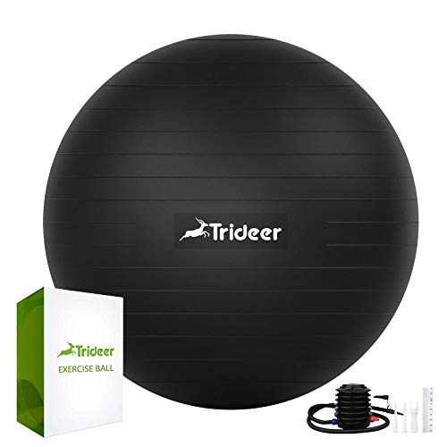 Image of Trideer Exercise Ball (45-85cm) Extra Thick Yoga Ball Chair,
