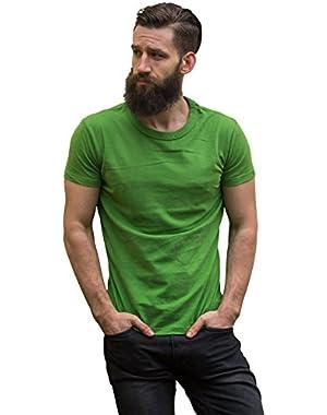 Men's Short-Sleeve Heavyweight Cotton T-Shirt