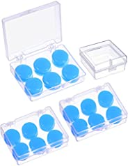 Sumind 9 Pairs Soft Protective Ear Plugs Silicone Putty Ear Plugs Moldable Earplugs Set for Sleeping, Swimming