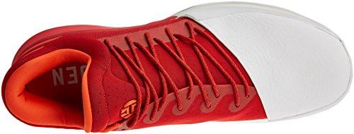 Blanc Vol Harden Rouge Zapatillas adidas Baloncesto de Orange Foncã Brique Hombre 1 para v1wxdq
