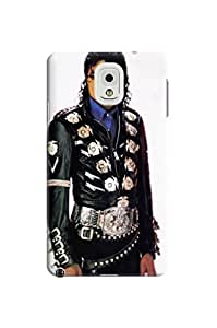 2014 most stylish pattern tpu skin back cover case with texture for Samsung Galaxy note3 of Michael Jackson in Fashion E-Mall
