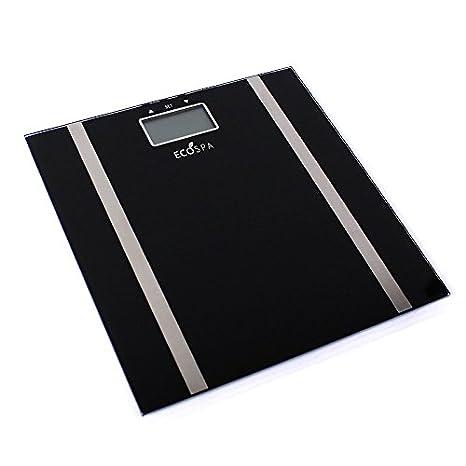 ECOSPA- Báscula de baño Digital con pantalla LCD , Incorpora medidor de grasa corporal e IMC: Amazon.es: Industria, empresas y ciencia