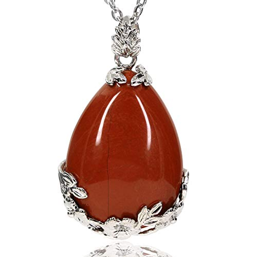 Red Agate Gemstone Necklace - 3