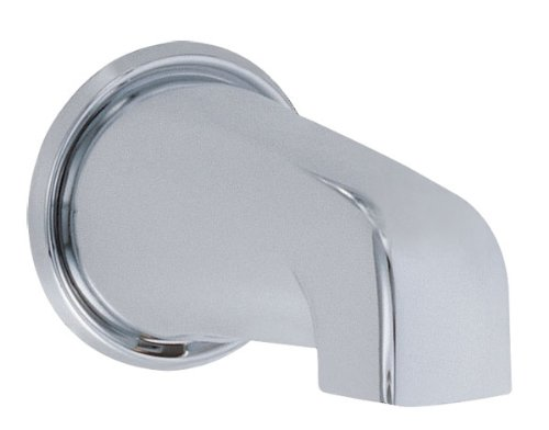 Danze D606325 Wall Mount Tub Spout without Diverter, 8-Inch, Chrome