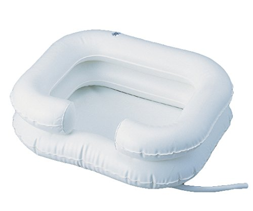 Deluxe Inflatable Shampoo Basin Bathing Aid - Wash Hair In Bed Fortuna Healthcare 8-7227-01