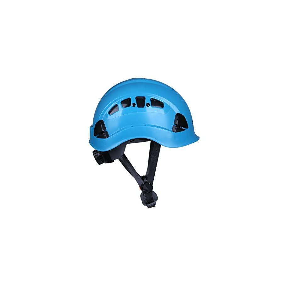 MonkeyJack Safety Rock Climbing Helmet Mountaineering Tree Arborist Kayak Abseiling Downhill Rescue Aerial Work Equipment Choice of Color