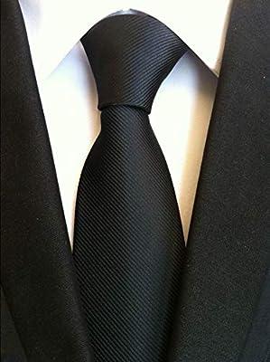 LLZGPZLD Corbata/Business Plaid Dot Tie para Hombre Ancho 8Cm ...