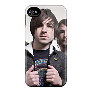 AaronBlanchette Iphone 4/4s Best Hard Phone Cases Customized Nice Edguy Band Pattern [hcQ6669ipbP]