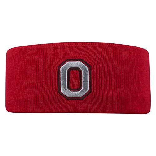 NCAA Ohio State Buckeyes Women's Top of The World Acrylic Headband
