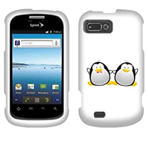Bloutina Fincibo (TM) ZTE Fury N850 Director N850L Valet Z665C Protector Cover Case Snap On Hard Crystal - Love of penguin...