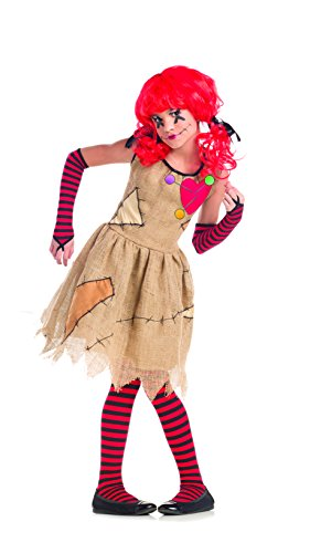 Child Voodoo Doll Costumes (Party King Voodoo Doll Child Costume - Large (12-14))
