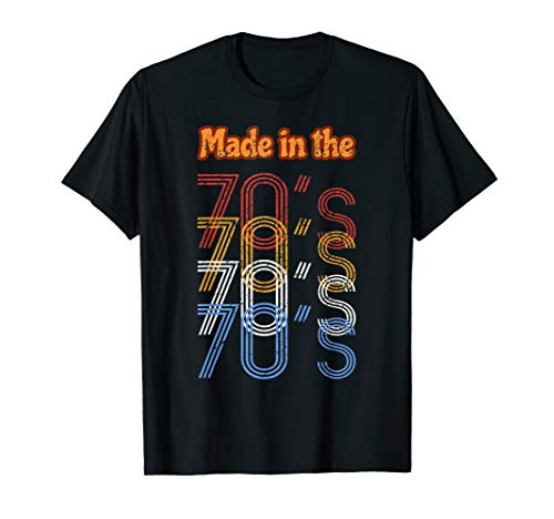 Made in the 70's - Distressed Retro / Classic T ()