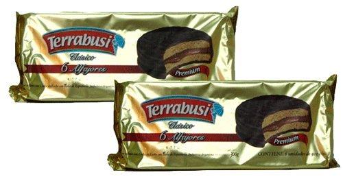 Terrabusi Alfajores De Dulce Con Bano De Reposteria 10.5oz 2pack