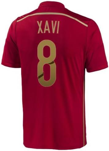 adidas Xavi #8 España Camiseta 1ra Copa Mundial (L): Amazon.es: Deportes y aire libre