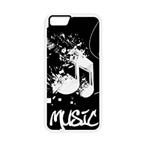 music 16 iPhone 6 4.7 Inch Cell Phone Case White 91INA91359360