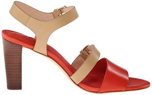 Johnston Murphy Women's Sandal Beige Coral Quarter Strap Dress amp; Laney TrH1nqxfwT