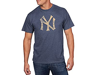 MLB Men's Drawing On Short Sleeve Crew Neck Tee