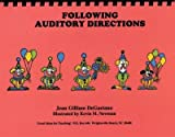 img - for Following auditory directions book / textbook / text book