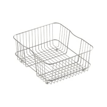 Great KOHLER K 3277 ST Coated Wire Rinse Basket, Stainless Steel