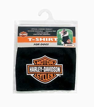 Harley Bar and Shield Dog T-Shirt Large by Coastal Pet