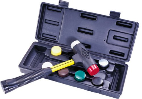 Nupla SPI-156-S6 9 Piece Quick Change Impax Sledge Power Drive Set with Carrying Case, C Grip, 12.5'' Long Handle by Nupla (Image #2)
