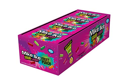 - Mike & Ike Sour-Licious Fruit Punch .78 oz Pouches - 24 Pack