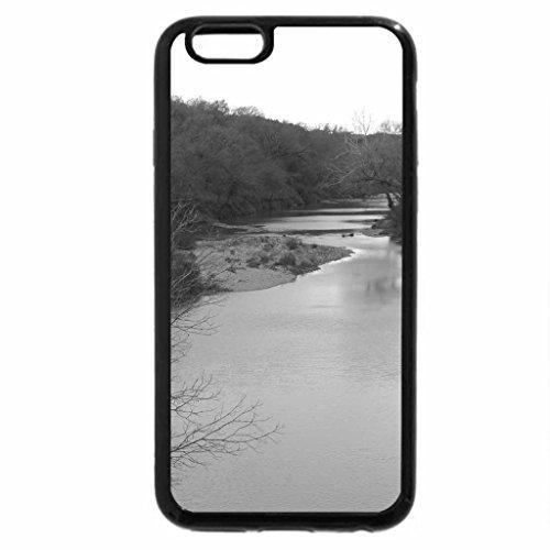 iPhone 6S Case, iPhone 6 Case (Black & White) - Lampasas River
