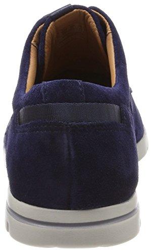Azul para Walk Vennor Derby Zapatos Hombre Navy Suede Cordones Clarks de Ygq188w