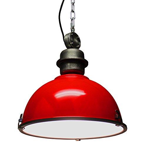 Red Aluminum Pendant Light - 2