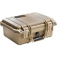 Pelican 1400 Camera Case With Foam (Desert Tan)
