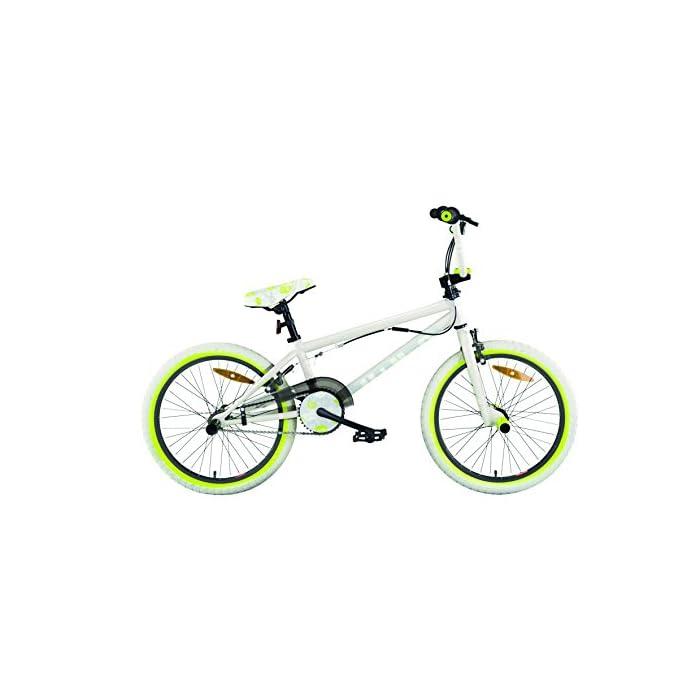 """Bicicletas BMX MBM U-N+O acero 20 """"1S"""